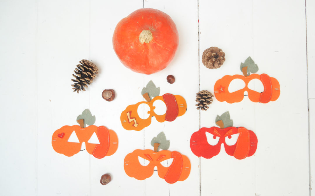 TUTO masques cucurbita #halloween